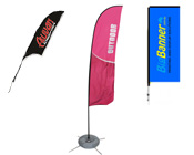 Flags - Feather & Teardrop Banners