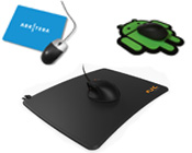 Plastic Surface Mousepad
