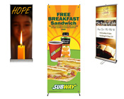 Retractable & Banner Stands