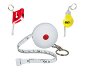 Tape Measure Key Chains
