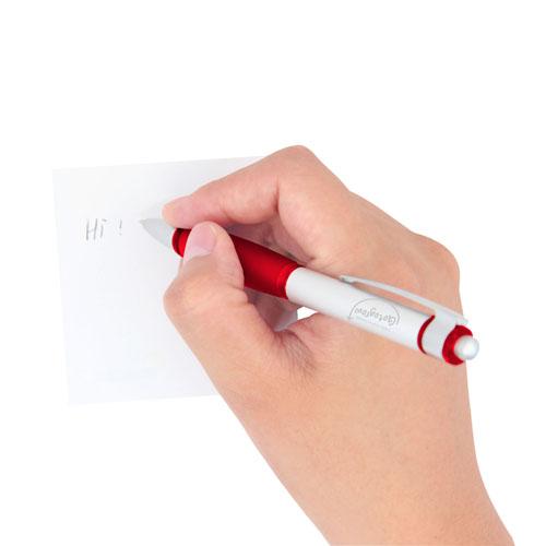 Click Action Metal Ballpoint Pen Image 3