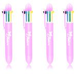 Pied Color Plastic Pen