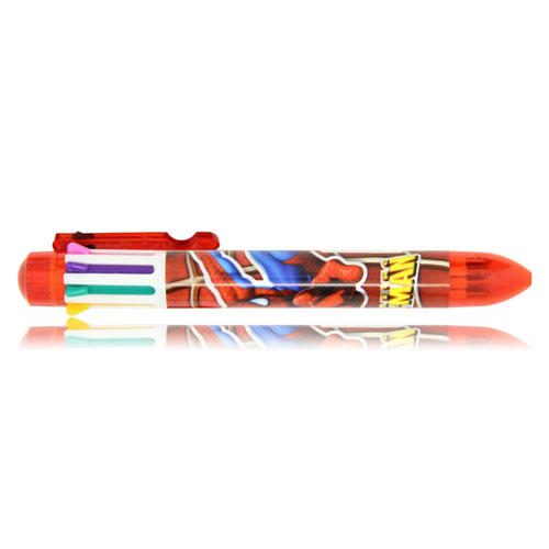 8 Color Plastic Pen