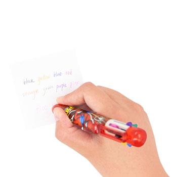 8 Color Plastic Pen