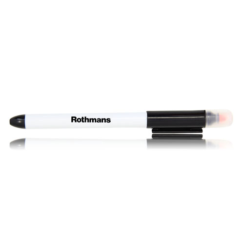 Combo Highlighter with Ballpoint Pen Image 13