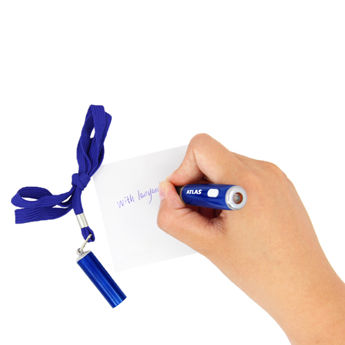 LED Ballpoint Pen With Lanyard Image 3