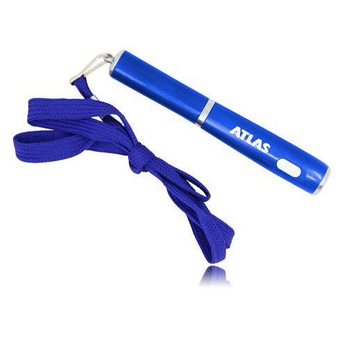 LED Ballpoint Pen With Lanyard
