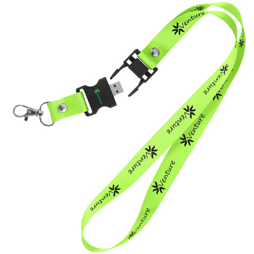 1GB Lanyard Flash Drive