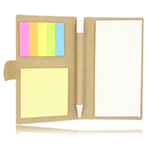 Eco Notepad With Sticky Note And Pen