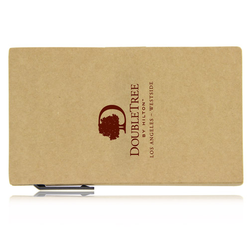 Eco Notepad With Sticky Note And Pen Image 2