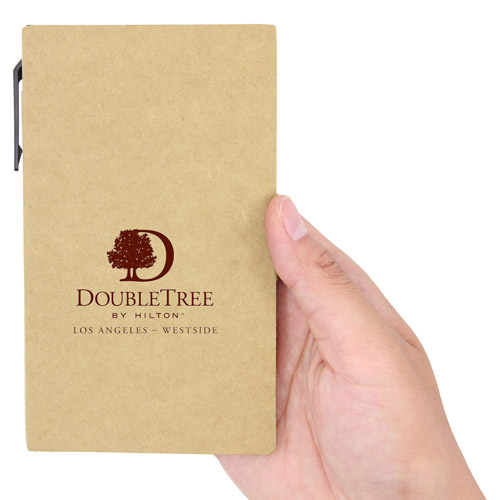 Eco Notepad With Sticky Note And Pen Image 4