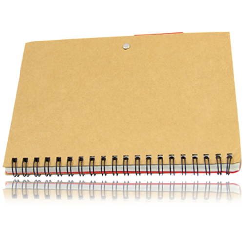 Eco Friendly Spiral Notebook with Pen Image 9
