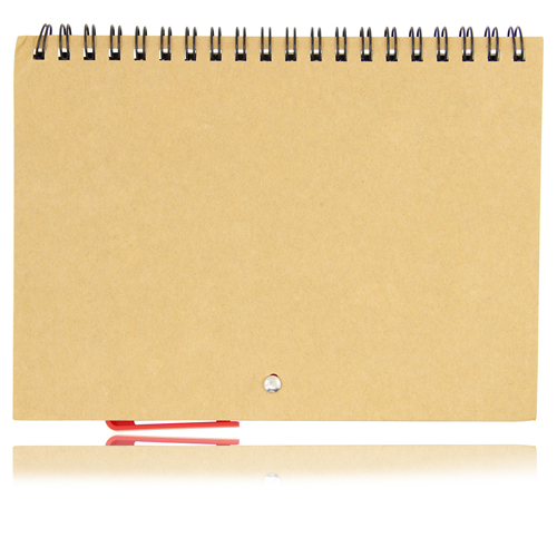 Eco Friendly Spiral Notebook with Pen Image 1