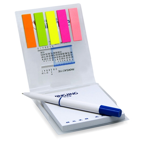 Calendar Notepad With Sticky Note