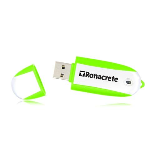 2GB Oval USB Flash Drive