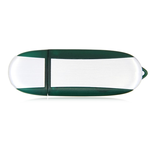 2GB Oval USB Flash Drive Image 2