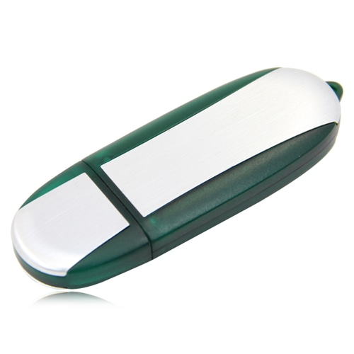 2GB Oval USB Flash Drive Image 6
