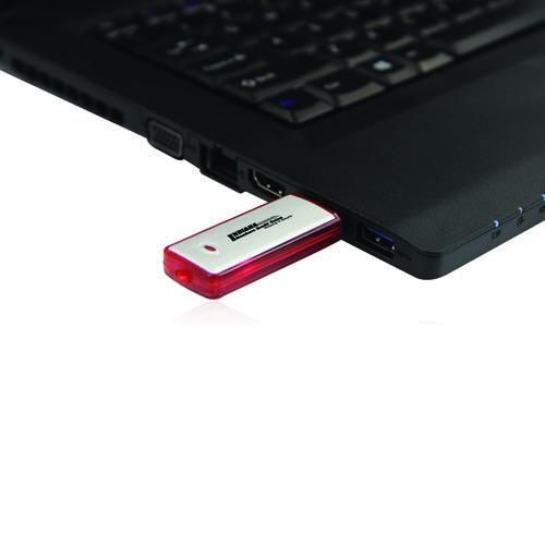 4GB Rectangular Flash Drive Image 3
