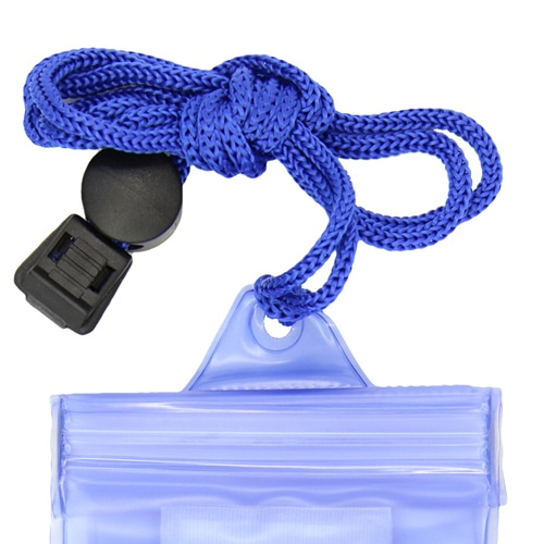 Waterproof Mobile Phone Pouch With Lanyard