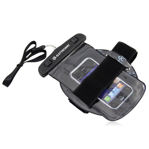 Waterproof Armband Pouch With Neck Strap