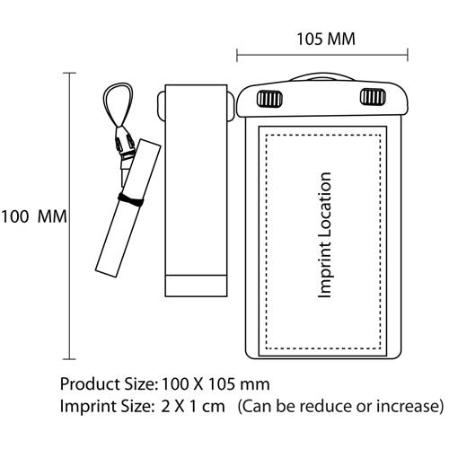 Impulse Waterproof Case With Neckstrap