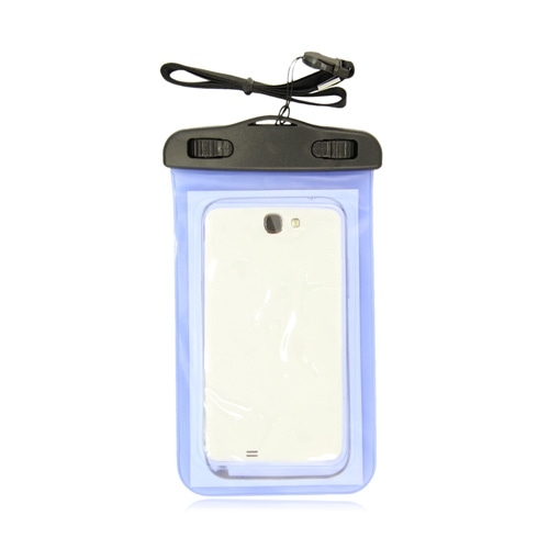 Plastic PVC Waterproof Case With Neckstrap