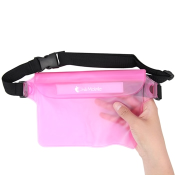 Stylish Waterproof PVC Waist Bag