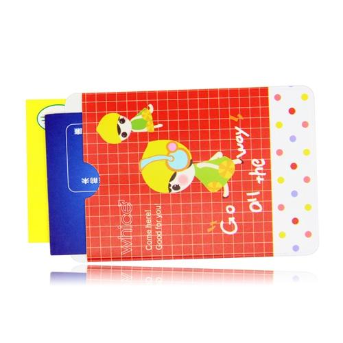 Lady Dot Design Card Sleeve
