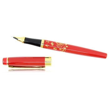 Flower Design Fountain Pen