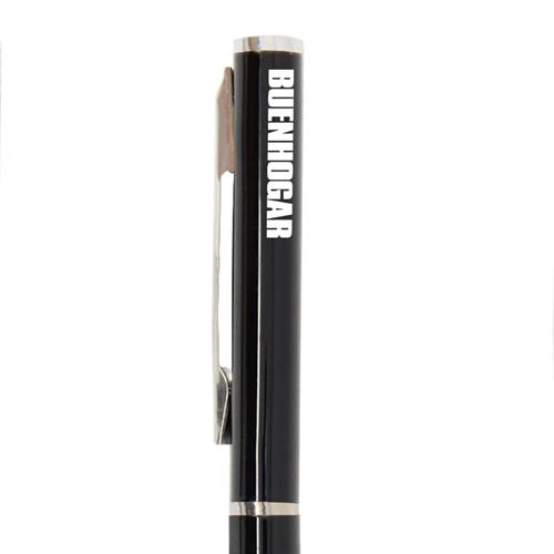 Twist Metal Ballpoint Stick Pen