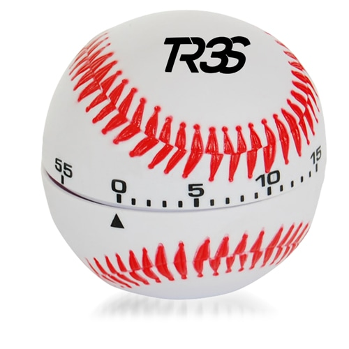 Baseball Shaped Kitchen Timer