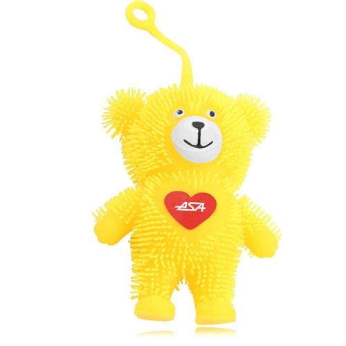 Happy Bear Yo-Yo Puffer Ball With Light
