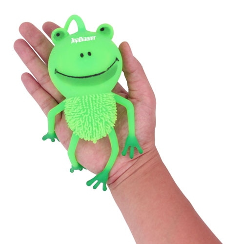 Frog Yo-Yo Puffer Ball With Light