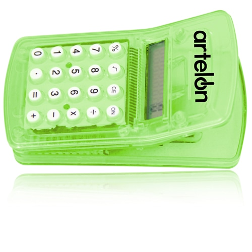 Calculator with Magnetic Clip Image 6