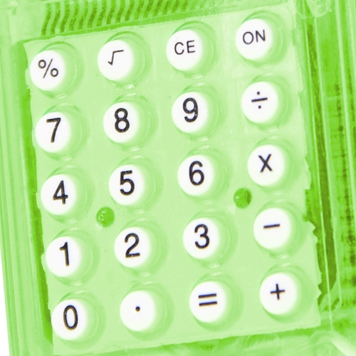 Calculator with Magnetic Clip Image 8