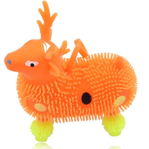 Deer Shape Yo-Yo Puffer Ball With Light