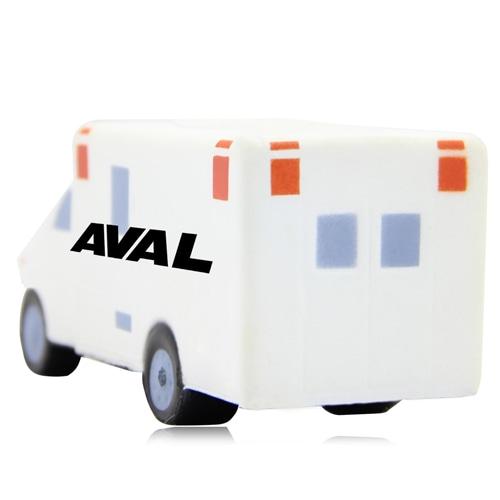 Ambulance Van Shaped Stress Reliever