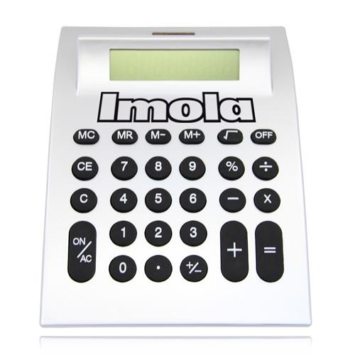 Curved Desktop Calculator