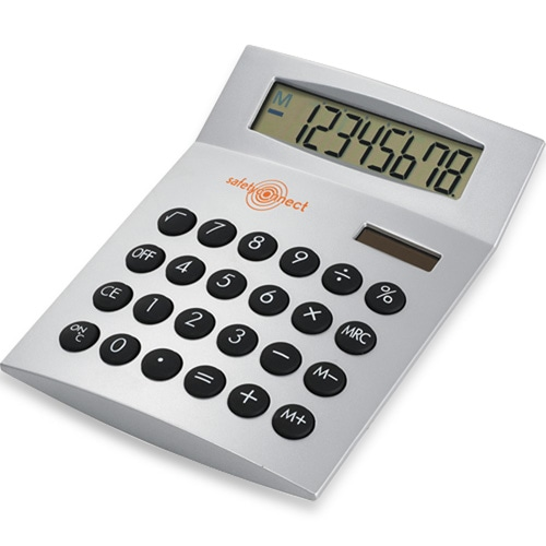 Desk Calculator With Euro Currency converter
