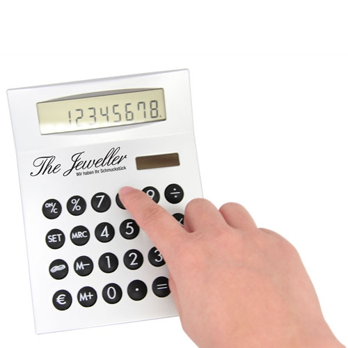 Desk Calculator With Euro Currency converter Image 3