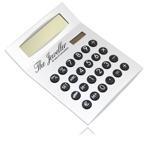 Desk Calculator With Euro Currency converter Image 5