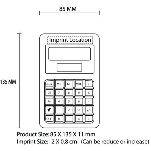 Eco Friendly Bamboo Calculator