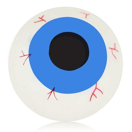 Eyeball Sticky Splat Toy