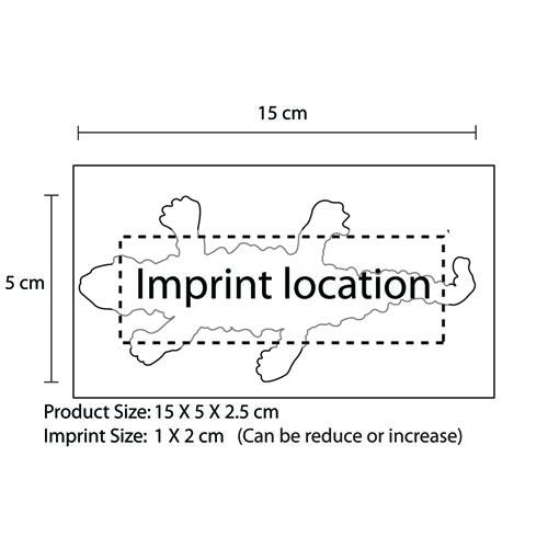 Sticky Lizard Splat Toy Imprint Image