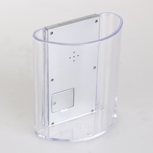 Translucent Pen Holder Desk Clock Image 7