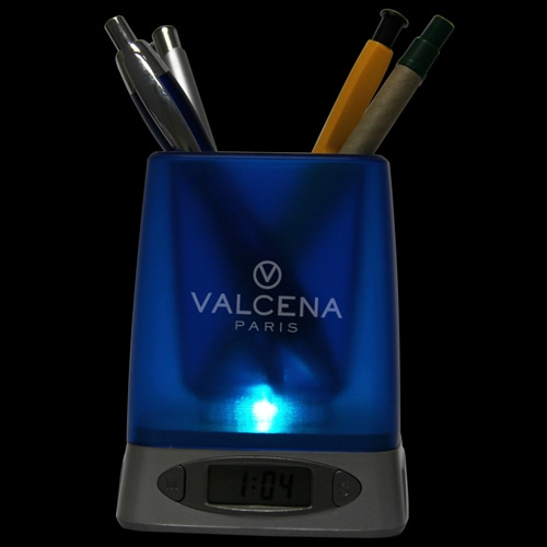 Ace Pen Holder With Time And Alarm Image 6