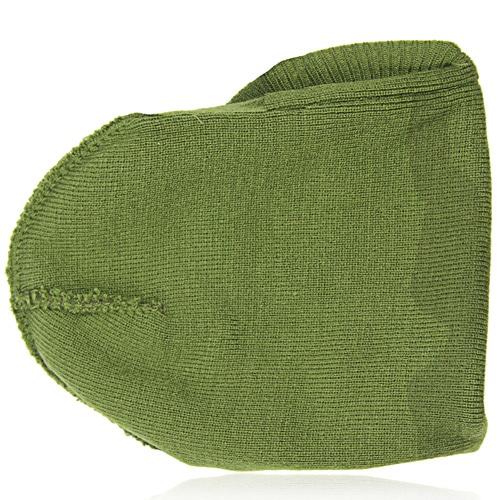 Knit Camouflage Visor Hat Image 2