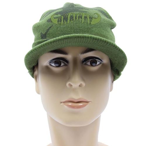 Knit Camouflage Visor Hat Image 3