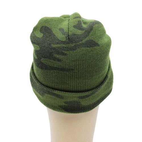 Knit Camouflage Visor Hat Image 5