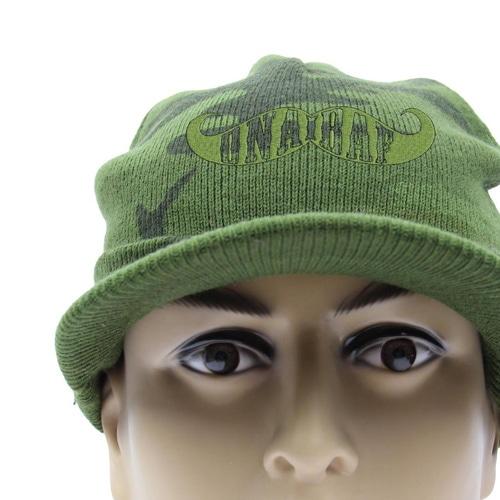Knit Camouflage Visor Hat Image 7